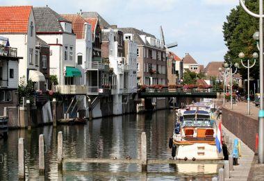 View on river De Linge in Chorinchem