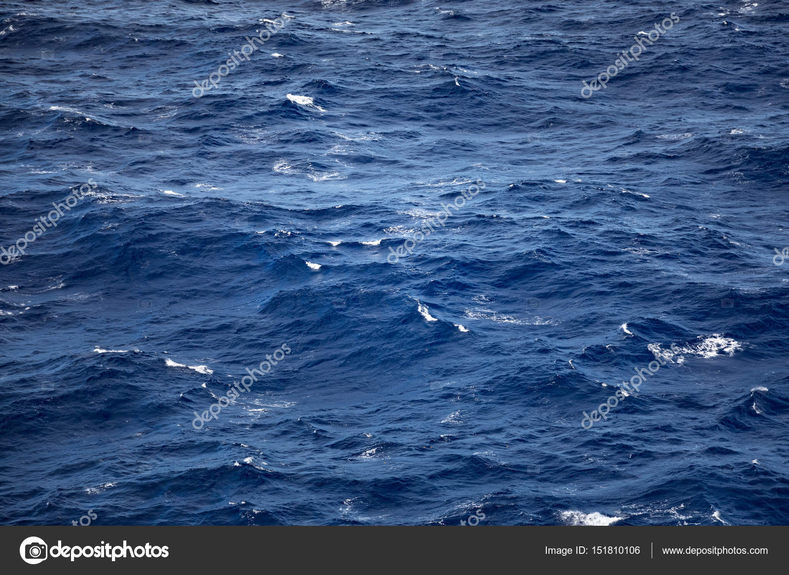 deep blue ocean waves background stock photo mblach 151810106