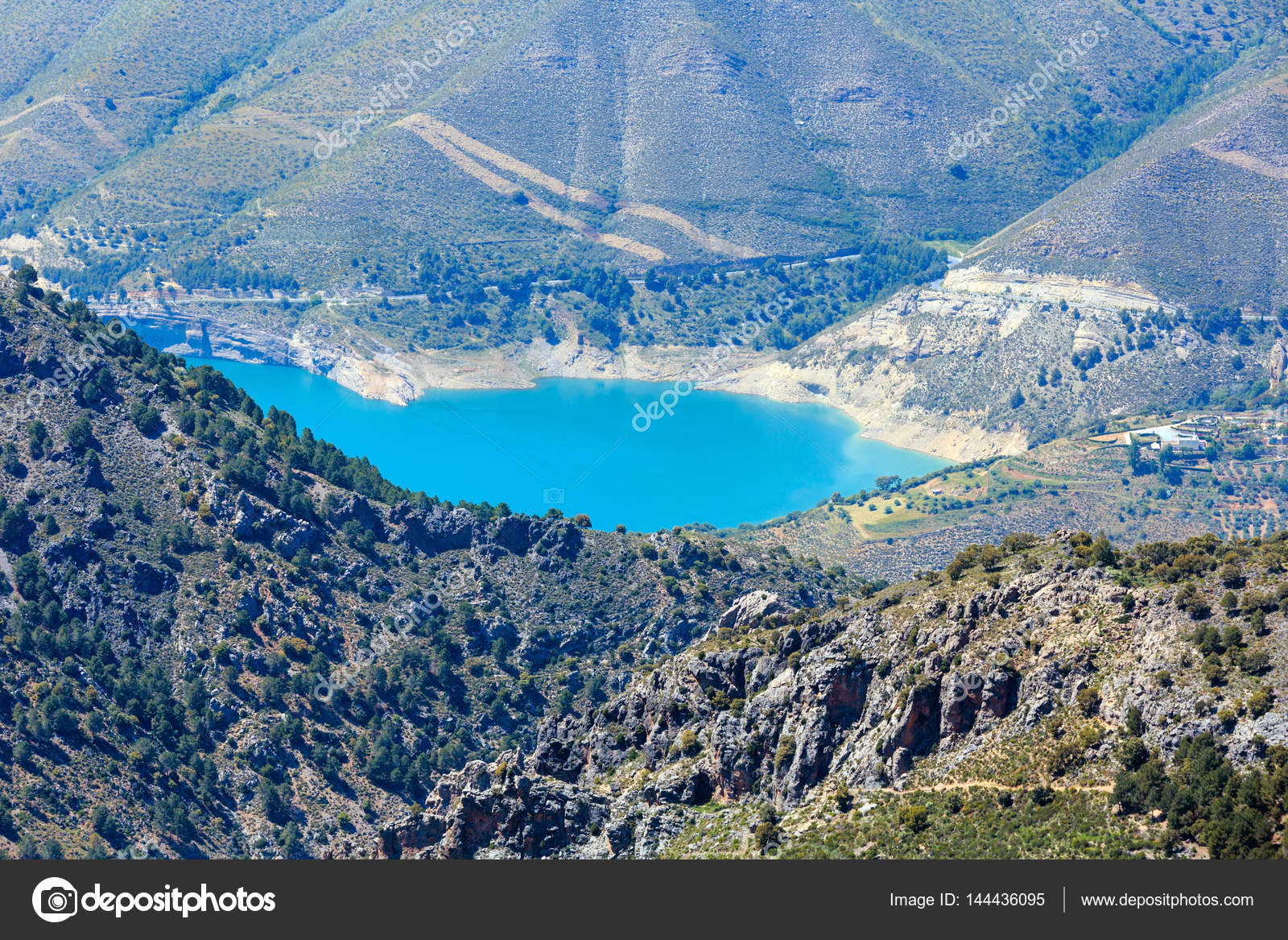 Ville Proche De La Sierra Nevada