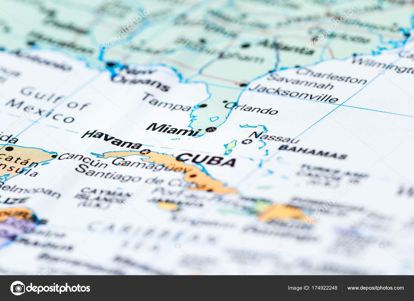 Mapa De La Florida Santiago Sur De La Florida En El Mapa Foto De