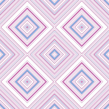 ornament with striped rhombuses in pastel tones