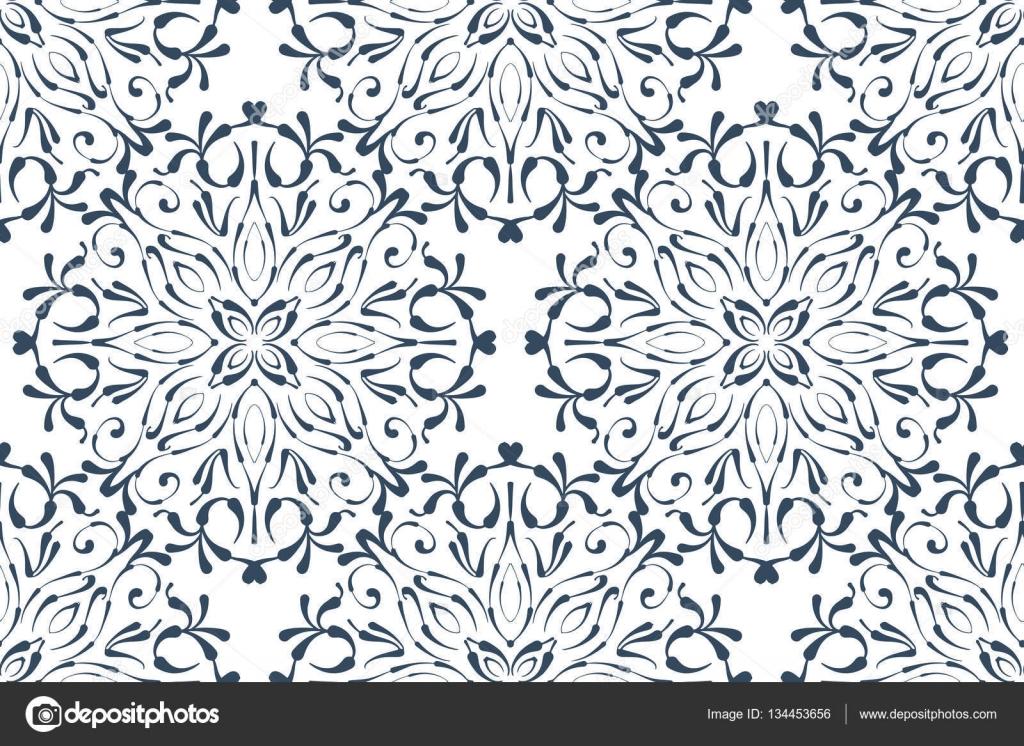 Dentelle Dessin dessin de dentelle sur fond blanc — image vectorielle tiff20