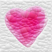 Fotografie embroidered pink heart