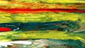 Fotografie Acryl gießen. Mehrfarbig bunten Hintergrund. Handgezeichnete Abbildung