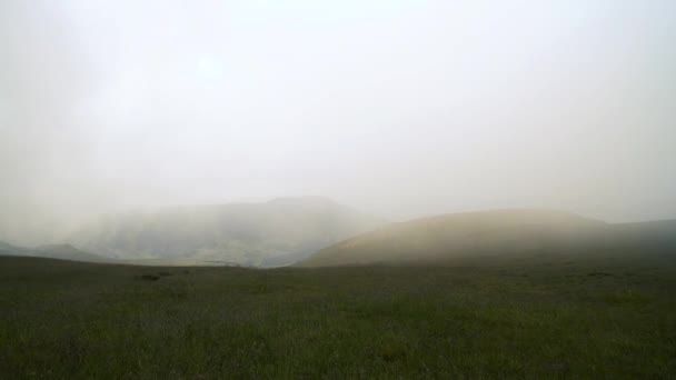 Krásné horské panorama na Balkáně v letním dni