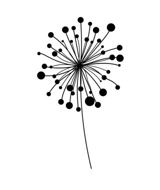 Dandelion Vector Element