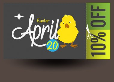 Happy Easter Discount Coupon