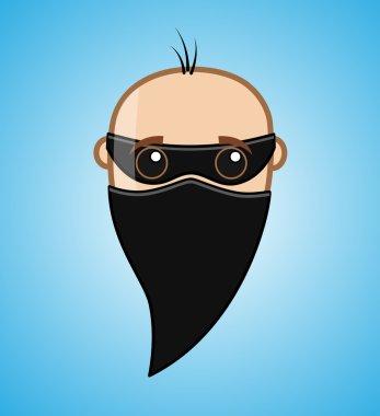 Masked Robber Face