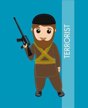 Islamic Terrorist Vector