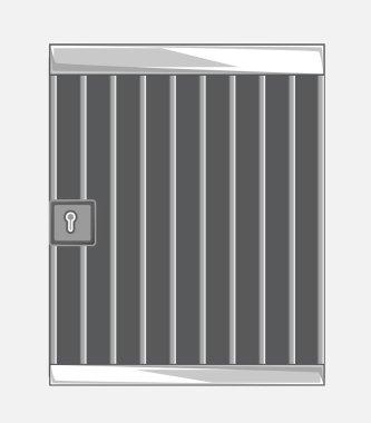 Jail Bars Vector