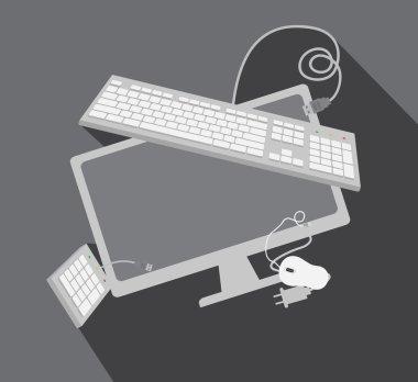 Tech Gadgets Vector Elements