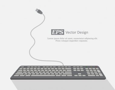 Keyboard Template Vector