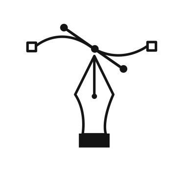 Pen Tool Vector Symbol