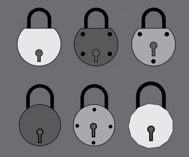 Locks Vector Illustration