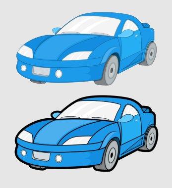 Cartoon Cars Designs