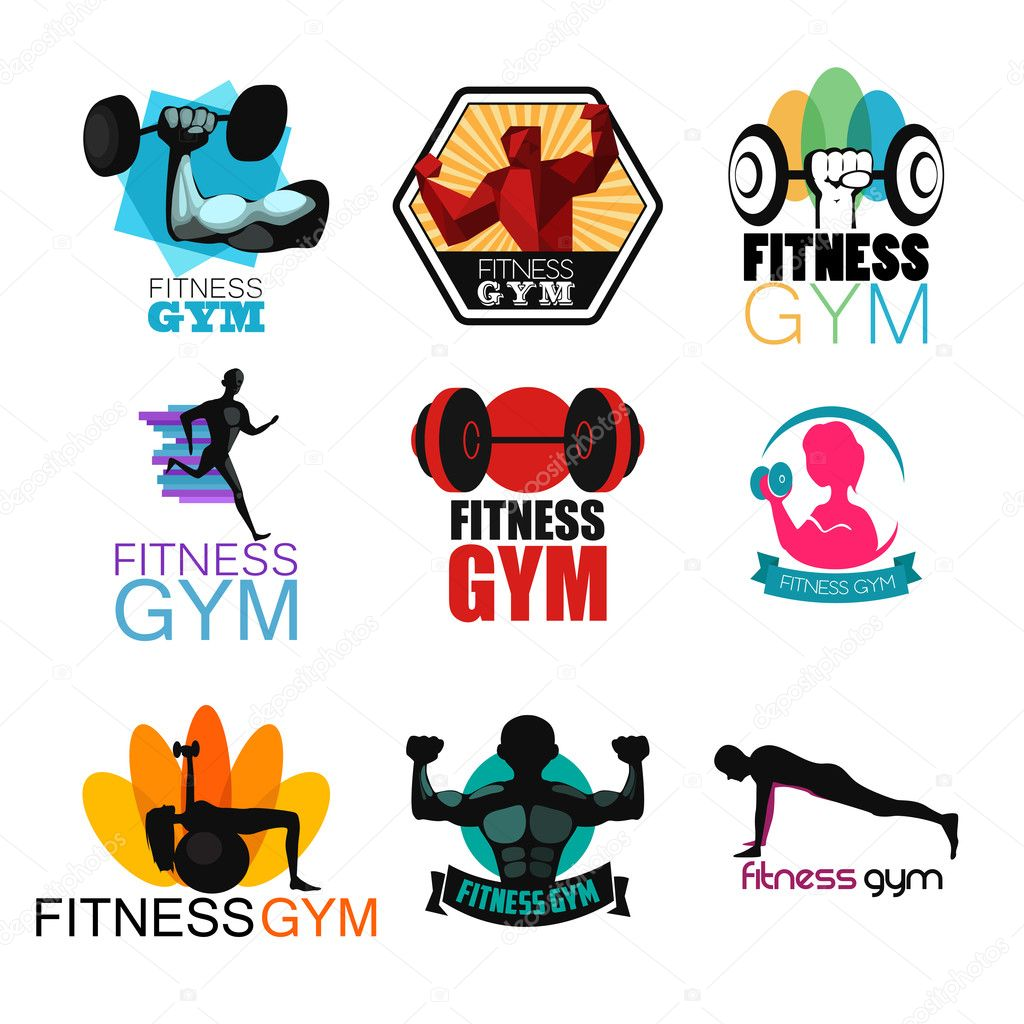 fitness gym logos wwwimgkidcom the image kid has it