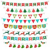 Photo Christmas Banner Flag