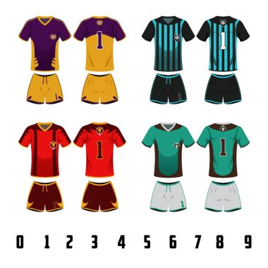 Soccer Jersey Uniform Design