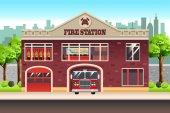 požární stanice budova
