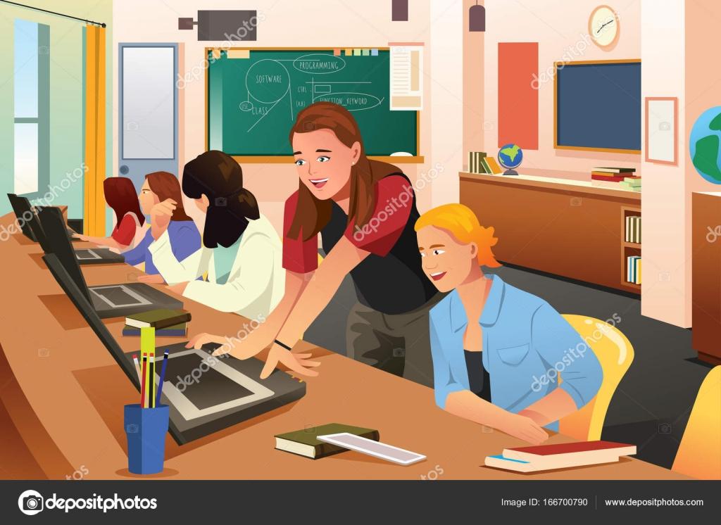 Imágenes: Animadas De Estudiantes En Clases