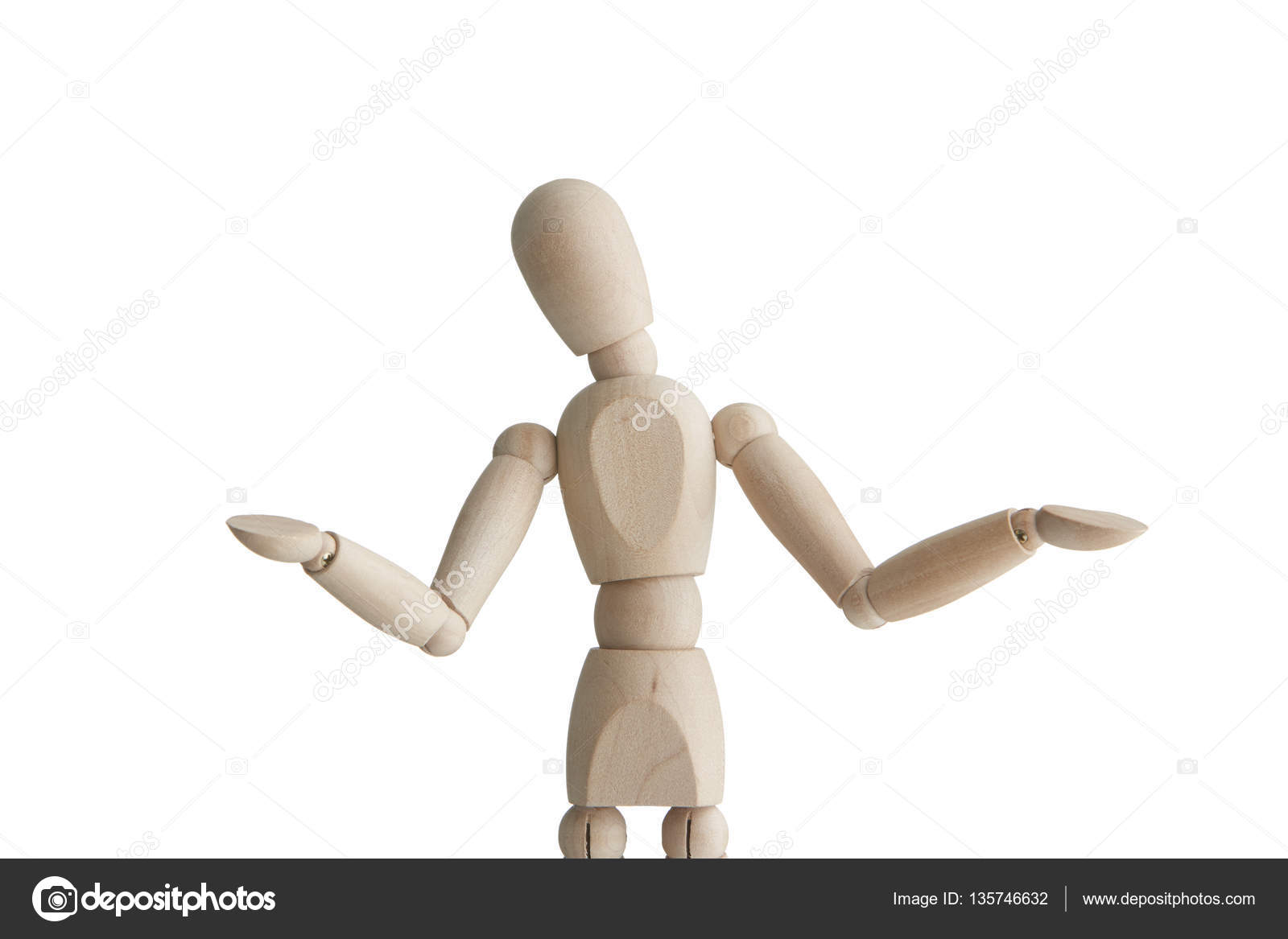wooden mannequin with uncertain pose stock photo 123ultra 135746632