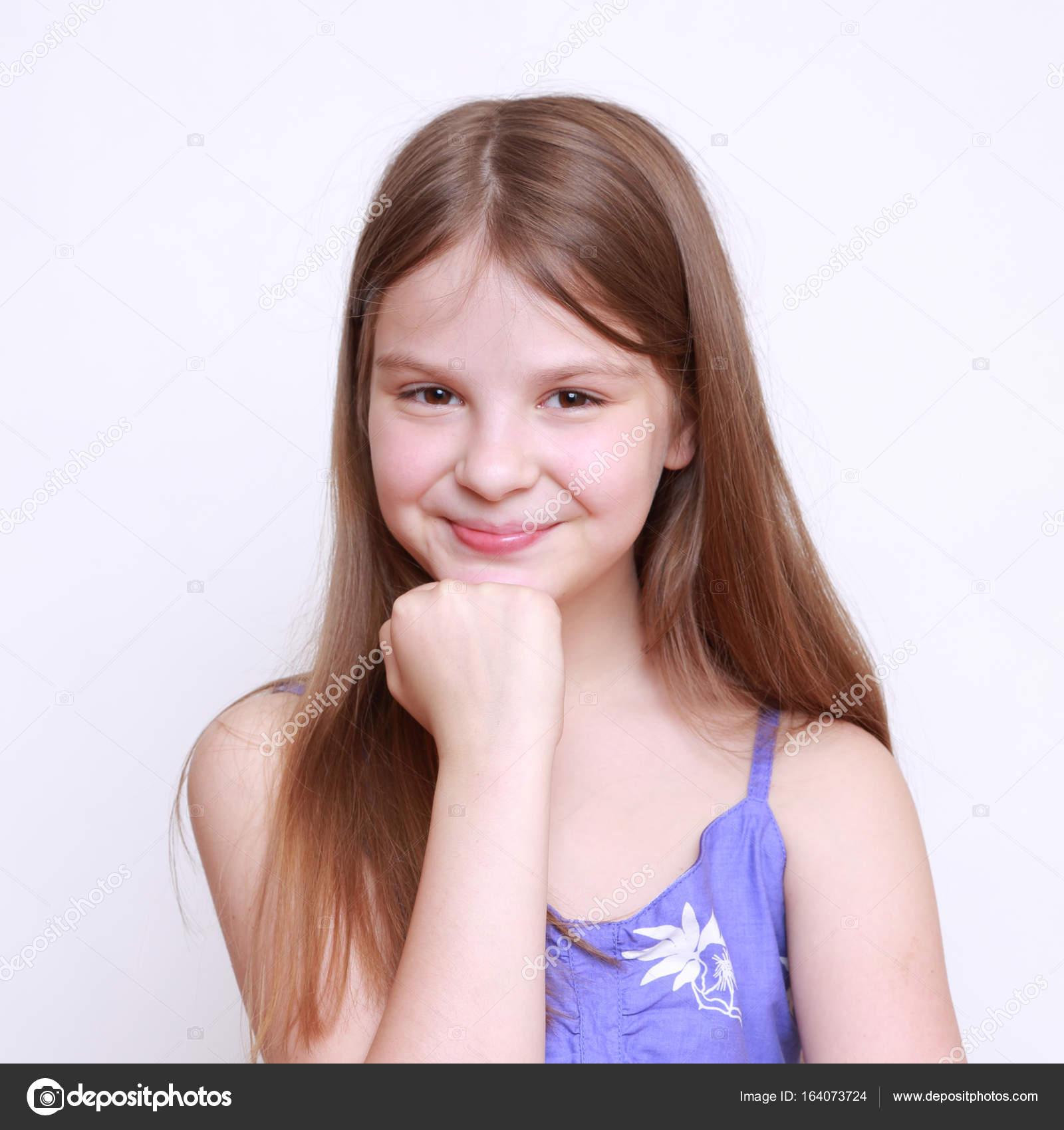 Useful Cute teen girl portrait consider, what