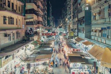 Mongkok Market  in Hong Kong