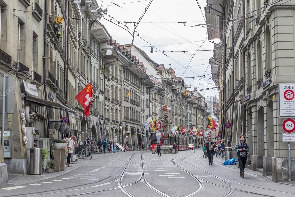 Bern city at Switzerland