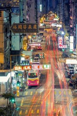 Mongkok, Hong Kong area.