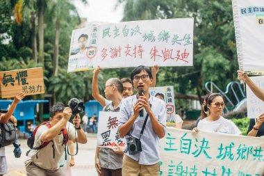 Eddie Chu in Hong Kong