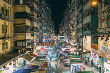Mongkok in Hong Kong