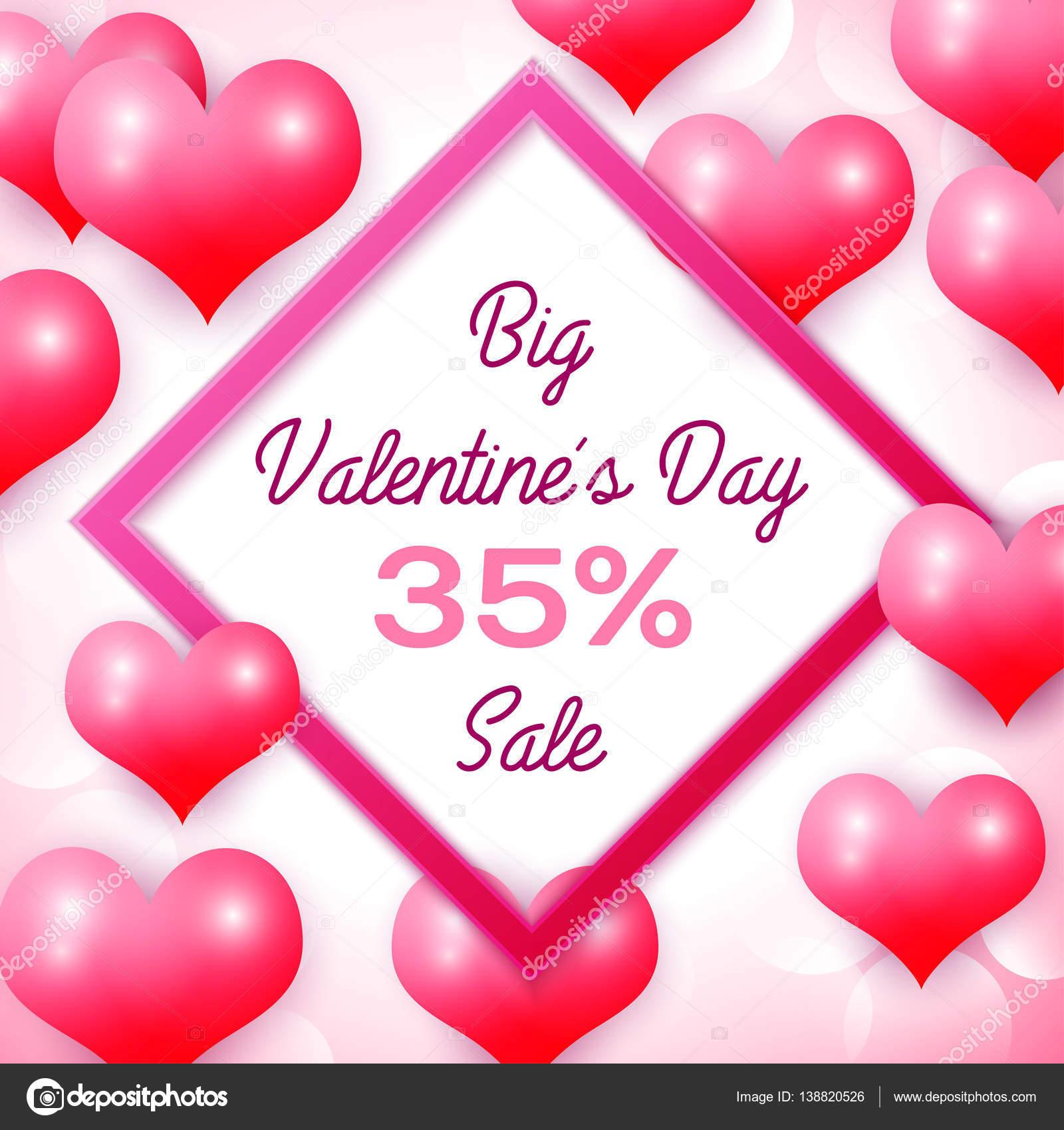 Grandes descuentos de 35% venta de día de San Valentín con marco ...
