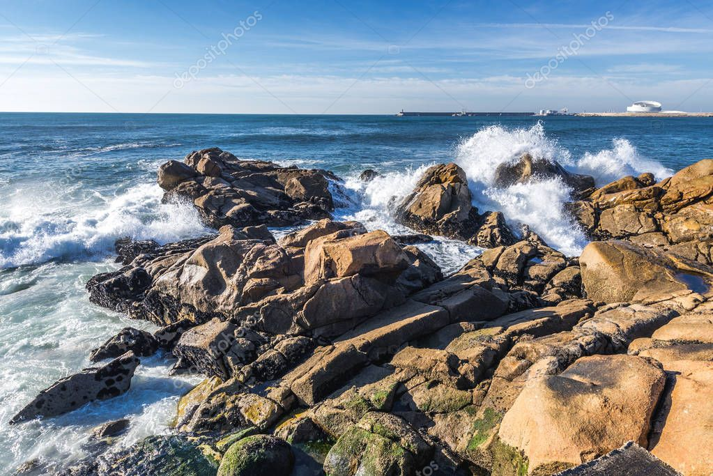 Atlantic Ocean in Porto