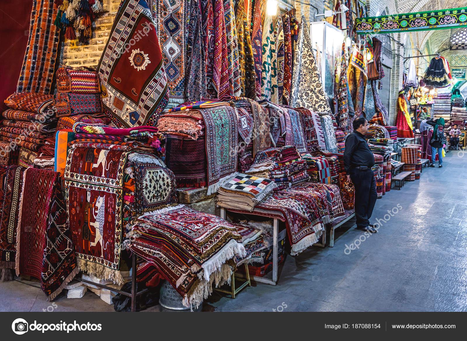 Bazaar in Shiraz – Stock Editorial Photo © fotokon #187088154
