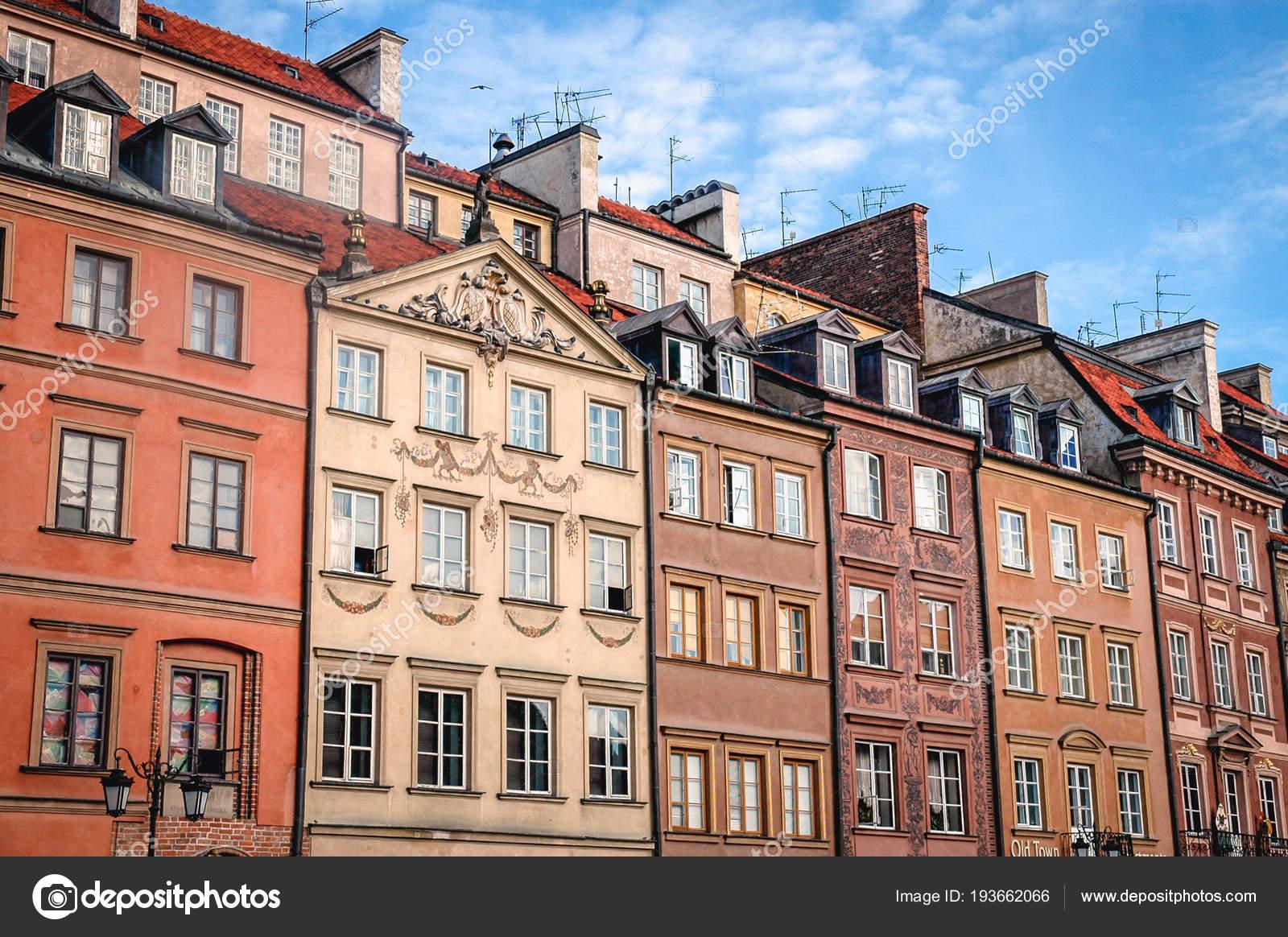Stare Miasto Warszawa Zdjęcie Stockowe Editorial Fotokon