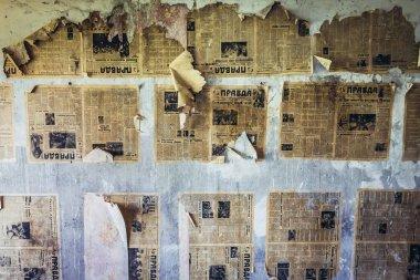 Abandoned Skrunda town in Latvia