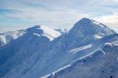 Fotografie Bílé vrcholy nízkých Tater
