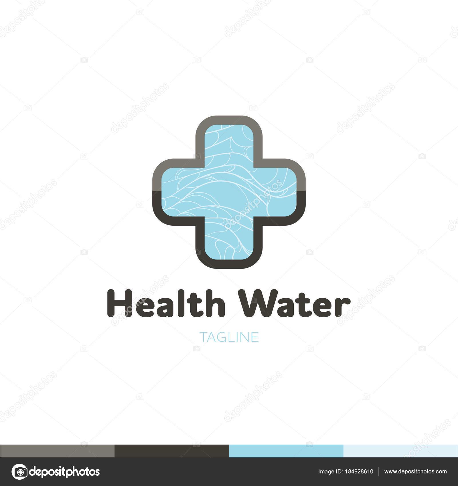 Agua símbolo logotipo diseño plantilla icono. Puede ser utilizado en ...