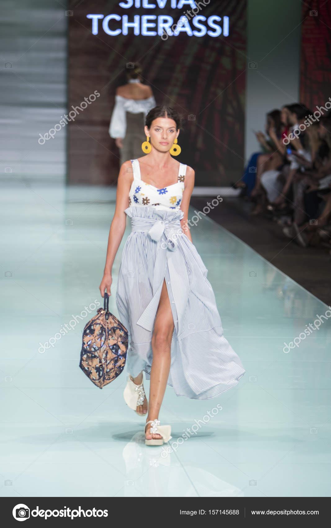 Silvia Tcherassi Fashion Sow 2017 – Stock Editorial Photo ...