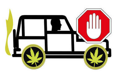 No driving under the influence of Cannabis. It is prohibited to ride a vehicle being high
