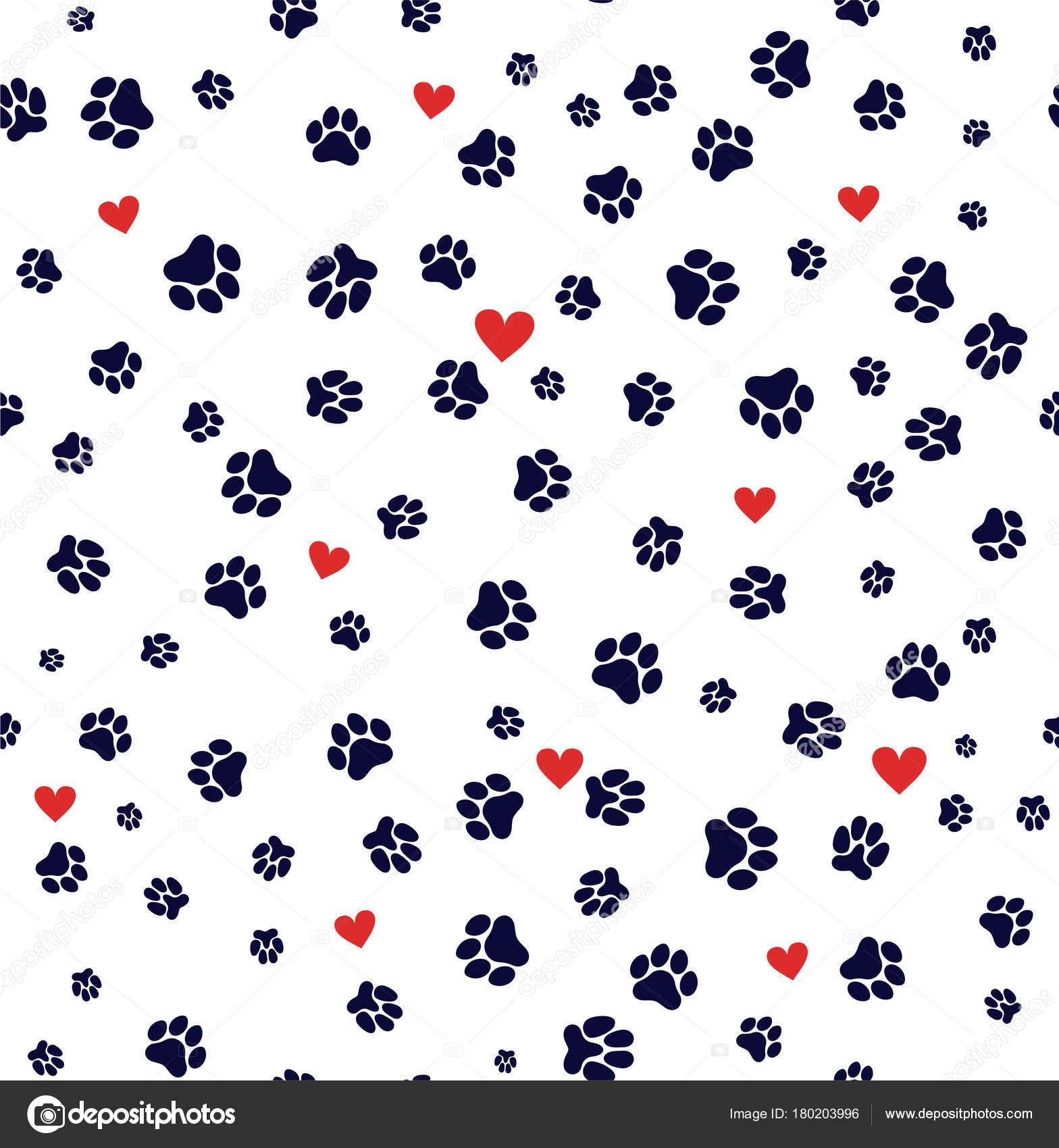 Fotos: plantillas huellas de perro para imprimir | Gato y la pata de ...