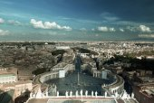 Saint Peters Square in Vatican, Rome