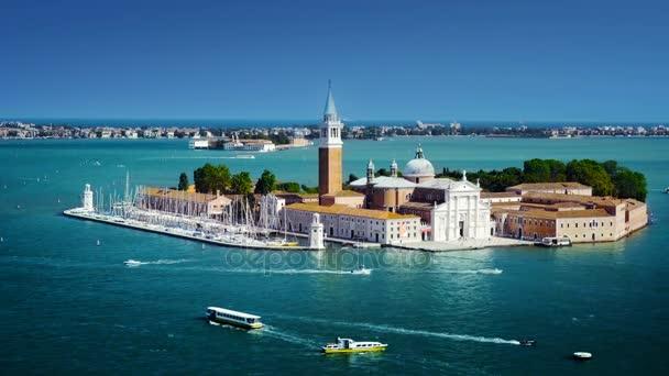kilátás a san giorgio-szigetre, Velence, Olaszország