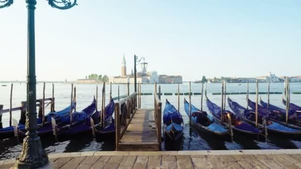San Marco náměstí s kostelem San Giorgio di Maggiore v pozadí, Benátky, Itálie