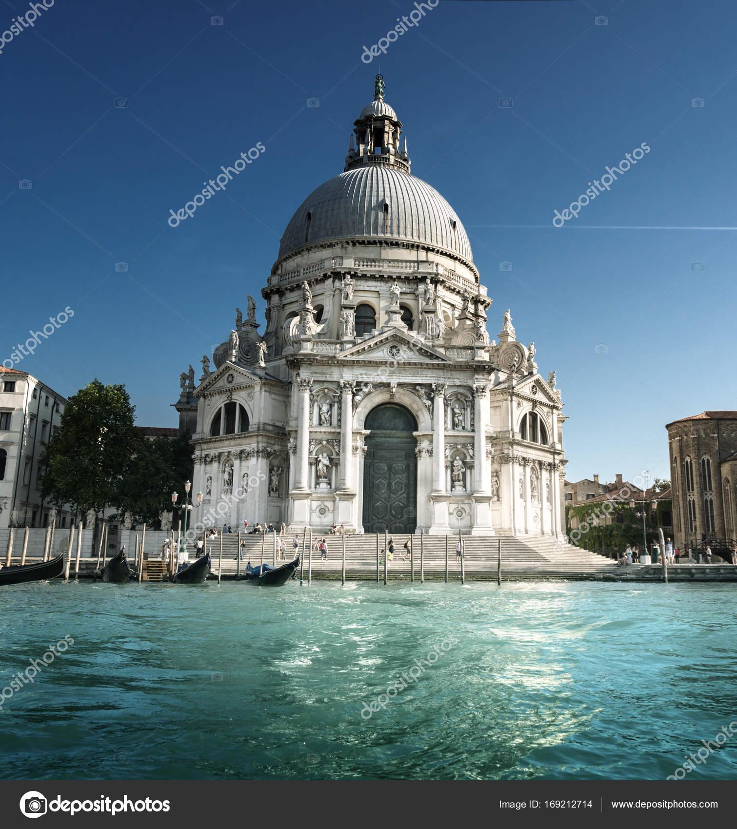 basilica santa maria della salute venice italy stock photo
