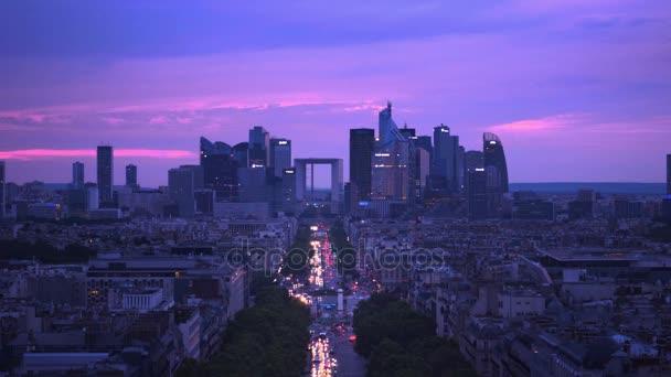 La Defense, üzleti negyed-Párizs, Franciaország