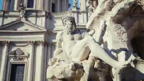 fontána di trevi v Římě, Itálie