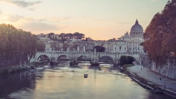 Doba platnosti baziliky sv. Peterse, Sant Angelo Bridge, Vatikán, Řím, Itálie