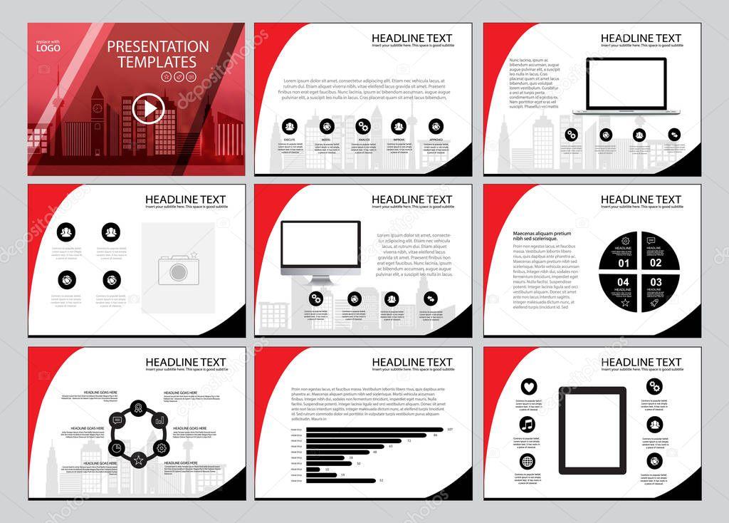 mod u00e8le polyvalent pour la pr u00e9sentation de diapositives avec des graphiques  parfait pour vos