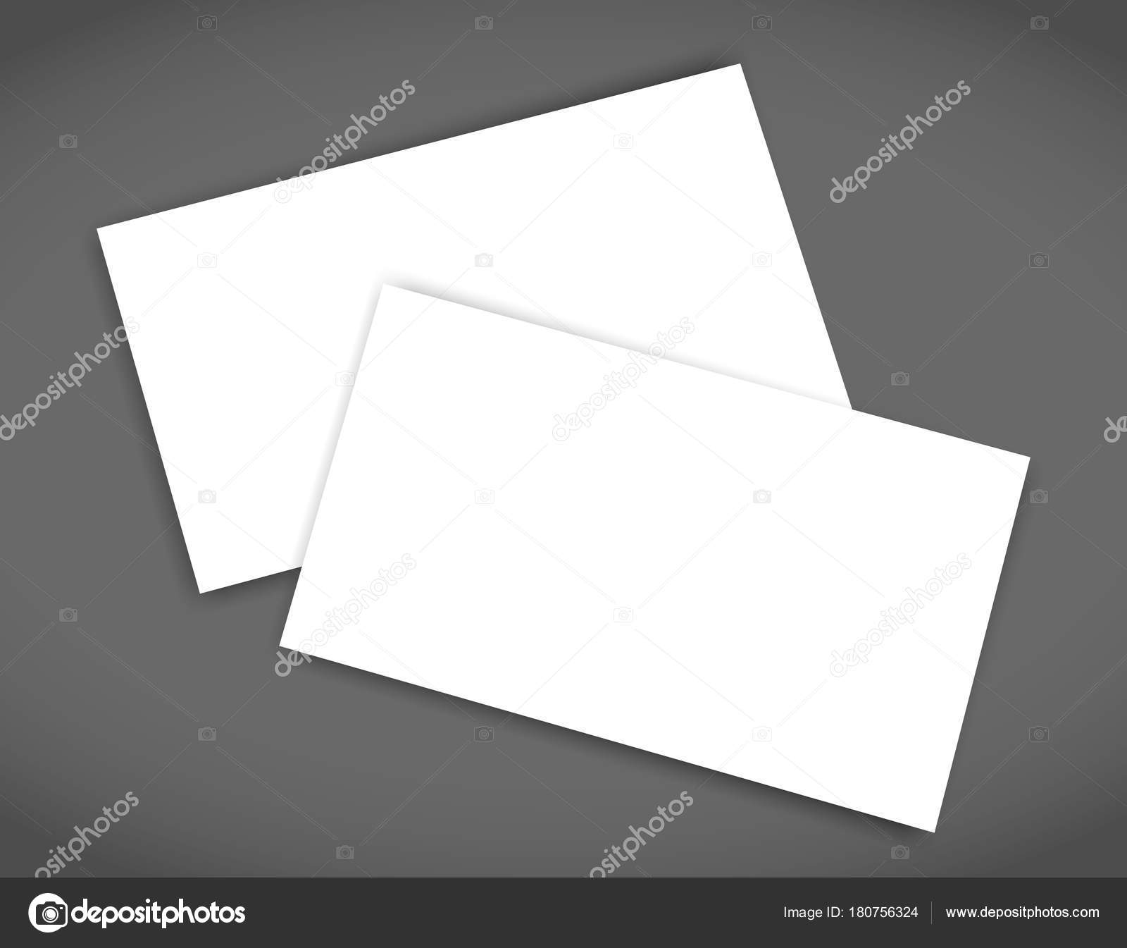 Business card blank with shadow mockup cover template stock vector business card blank with shadow mockup cover template stock vector reheart Gallery